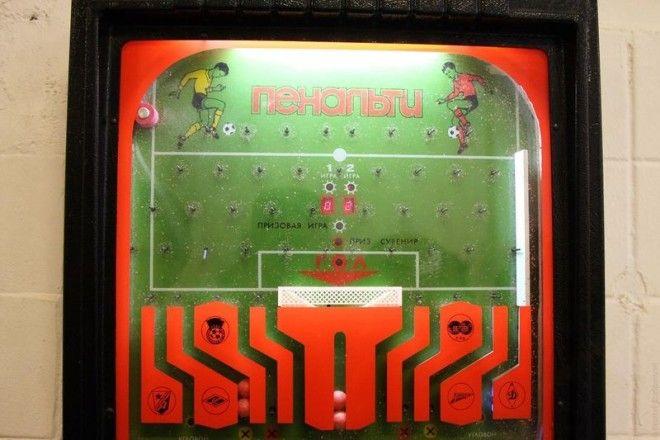 Пенальти СССР игровые автоматы