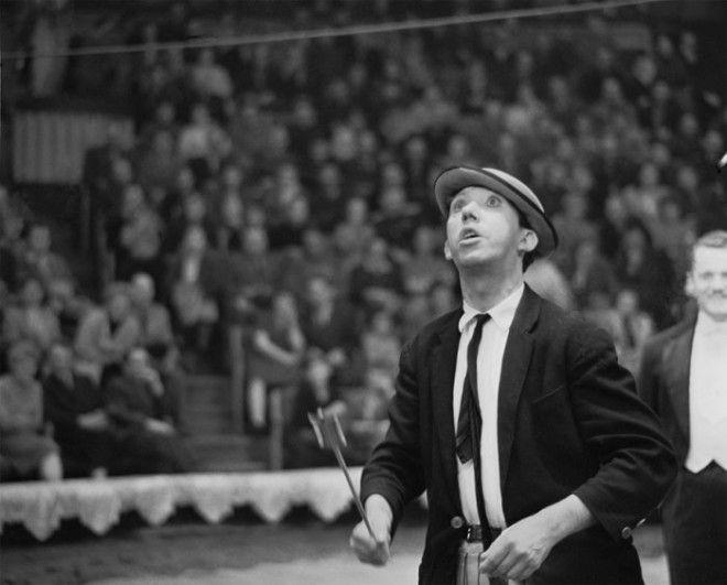 Советский артист цирка Юрий Никулин в 1963 году