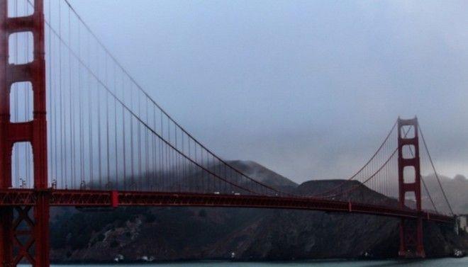 Цвет моста Золотые Ворота