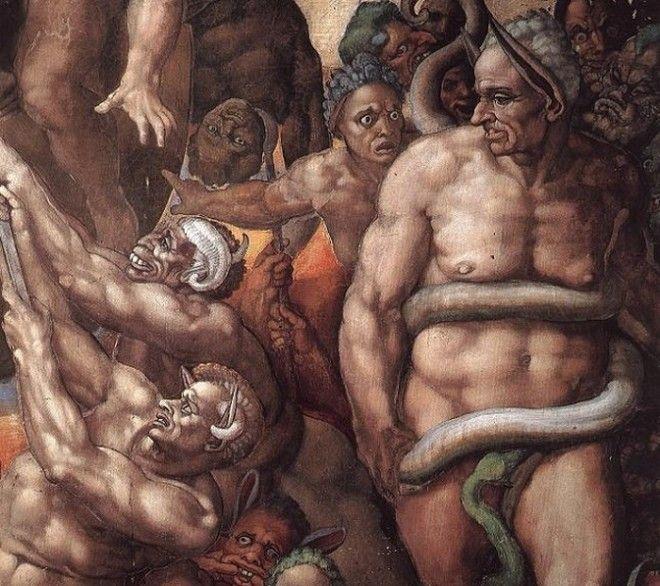 Микеланджело и его Страшный суд