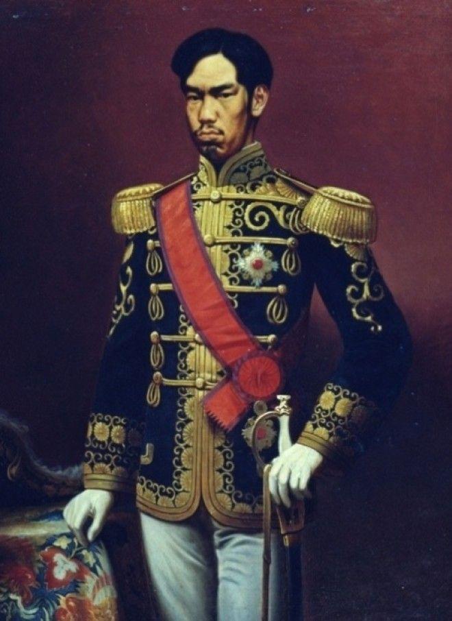 Снимок японского императора Мэйдзи Фото cdnimgrgru