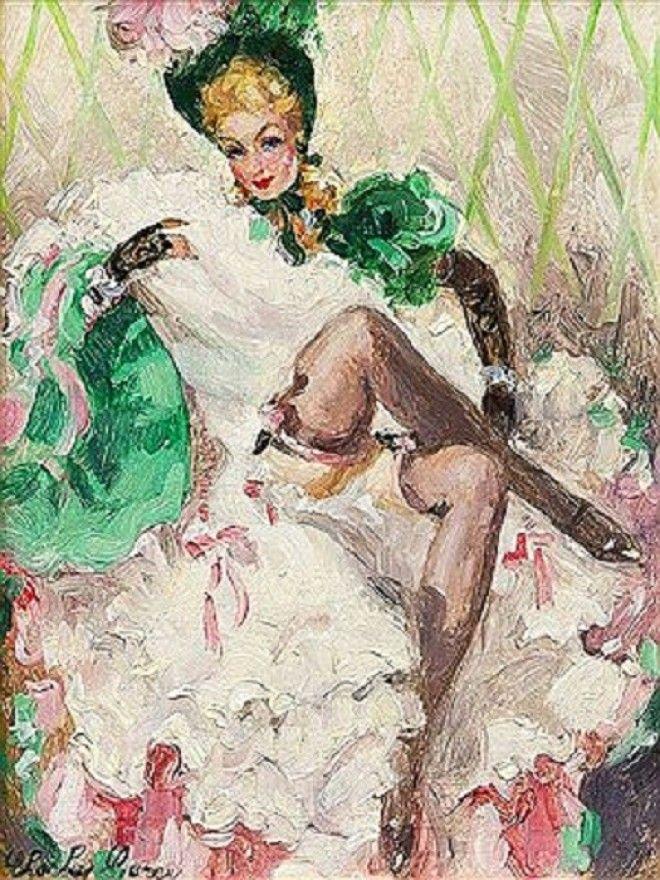 Танцовщица А ТулузЛотрек Фото colorslife
