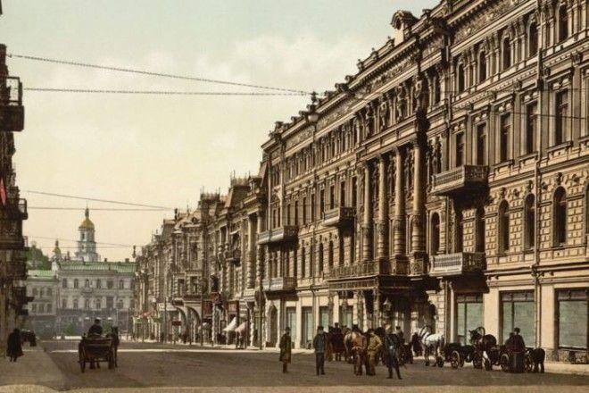 Киев 100 лет назад и сейчас (22 фото)