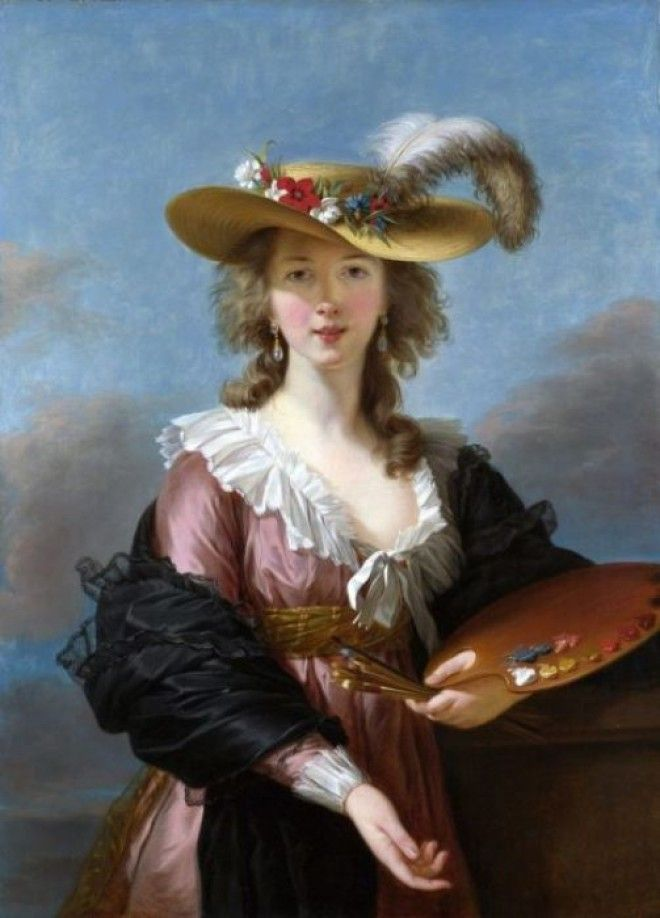 Автопортрет мадам Лебрен