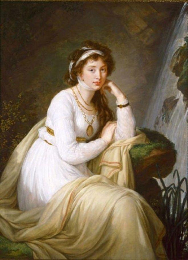 Портрет графини Анны Ивановны Толстой Барятинской