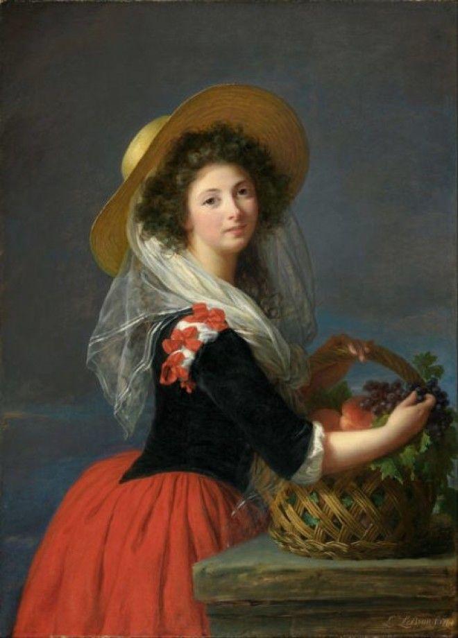 Портрет кисти Элизабет Лебрен 1784 г