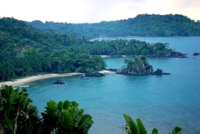 Побережье острова СентМари Фото restbeeru