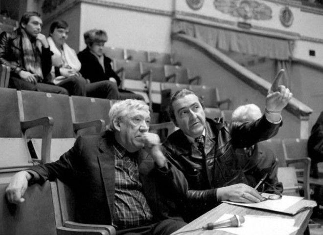 Главный режиссер Московского цирка на Цветном бульваре Юрий Никулин готовит новую цирковую программу в 1984 году
