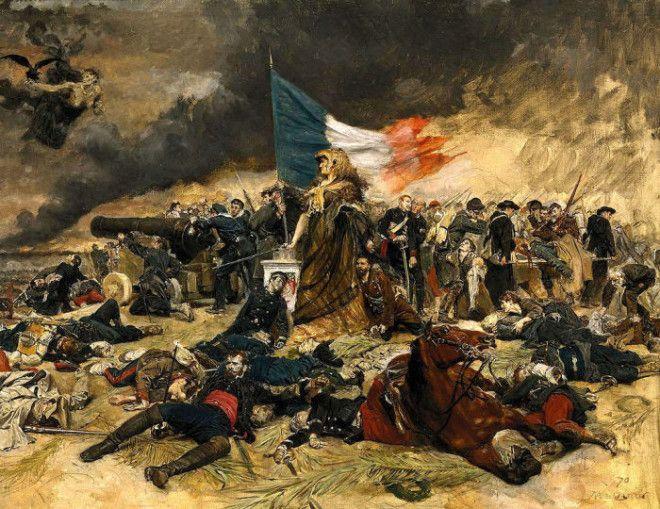 Осада Парижа в 1870 году. Жан-Луи-Эрнест Месонье.   Фото: ru.wikipedia.org.