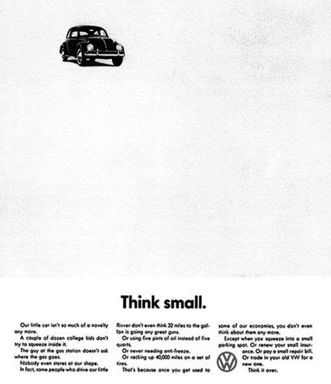 Volkswagen Think Small