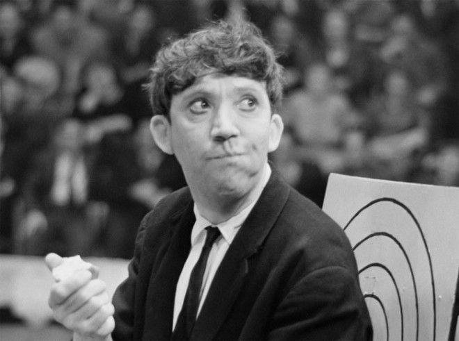 Юрий Никулин на репетиции в 1962 году