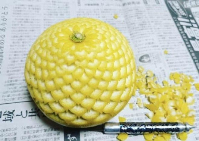 Овощные и фруктовые скульптуры новый тренд сезона модный тренд скульптуры из еды съедобные украшения