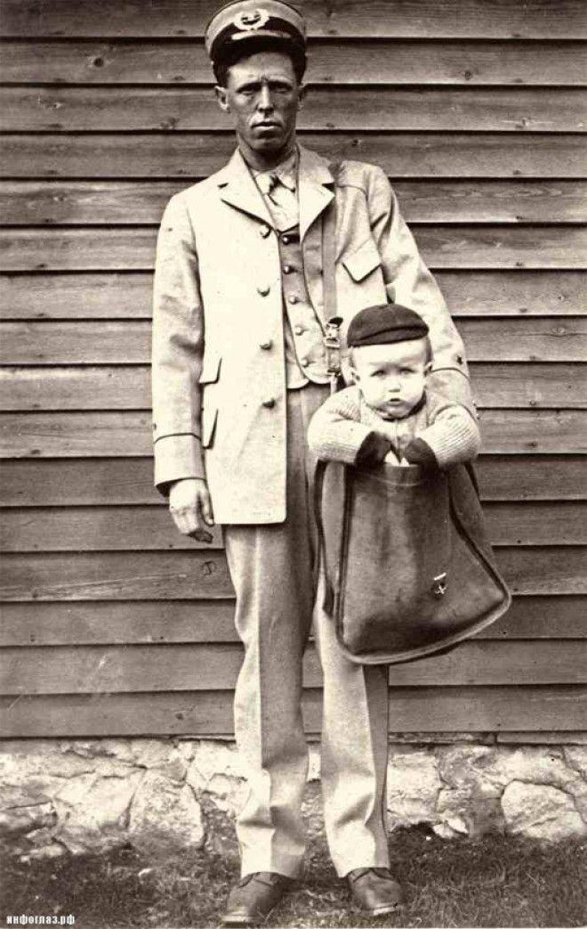 LВ США в начале ХХ века детей отправляли почтой по тарифу для кур