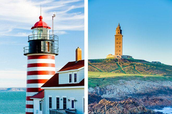 Самые эффектные маяки из разных уголков планеты