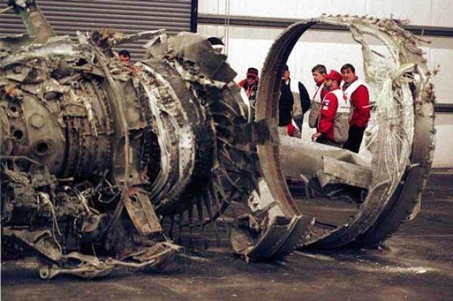 Разбитый Боинг767 авиакомпании Egypt Air