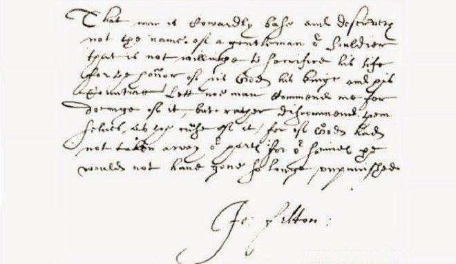 Записка Фельтона о намерении убить герцога Бекингема Фото facultyhistorywiscedu