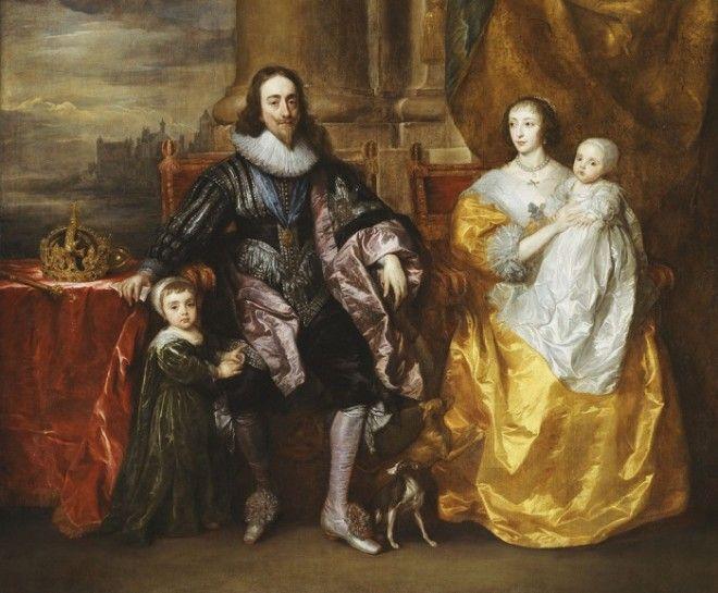 Джеффри Хадсон придворный карлик королевы Генриетты Марии