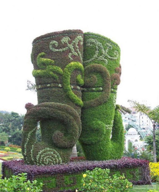 Замечательная подборка произведений садовопаркового искусства