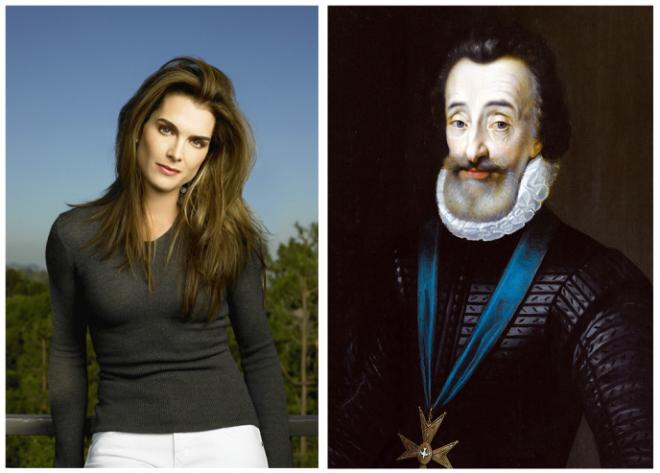 Звезды чьи предки оказались куда более известными