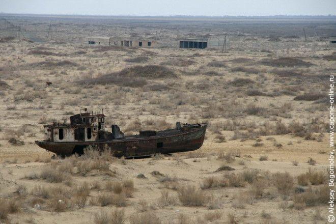 Самые большие в мире кладбища кораблей