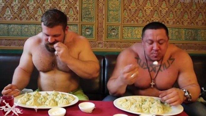 18 Спортсменам калории не страшны еда обжора с голодного края смешно