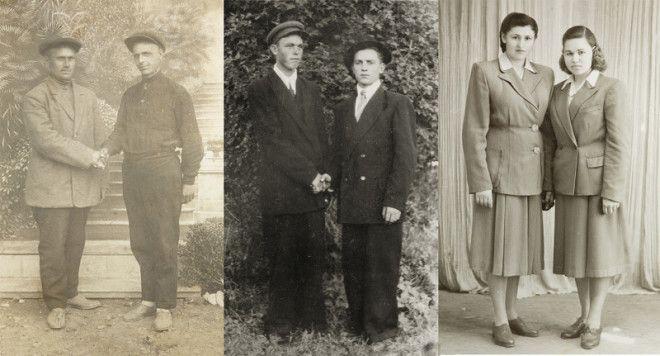 Почему на старых фотоснимках часто кладут руку на плечо история факты фото