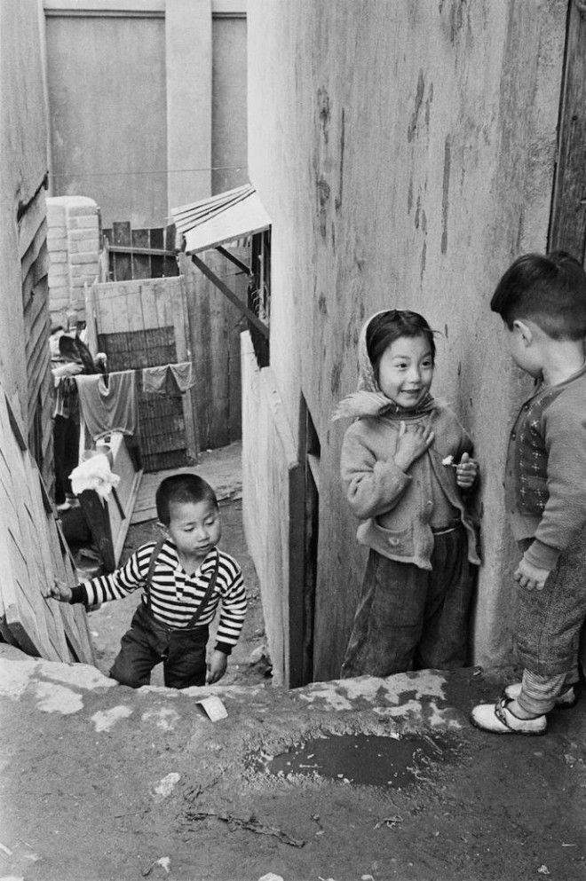 Lедкие кадры восстановления Сеула после Корейской войны