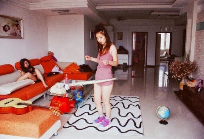 НА 2300Беззаботная жизнь молоденьких китаянок