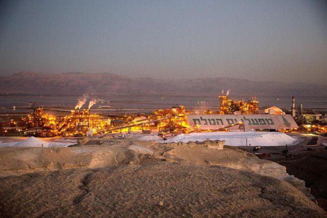 Калийный завод Dead Sea Works