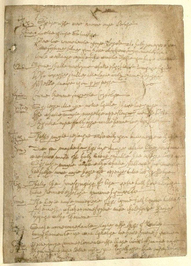 Рукопись шекспировских подделок Уильяма Генри Айрленда Фото aroundshakeru
