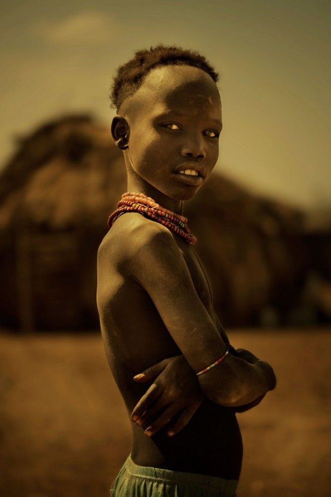 Bоразительные фото эфиопских племен