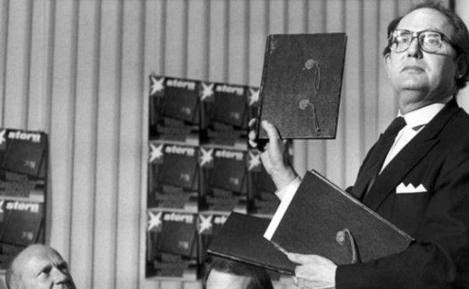 Демонстрация фальшивых дневников Гитлера 1983 год Фото niyisinet