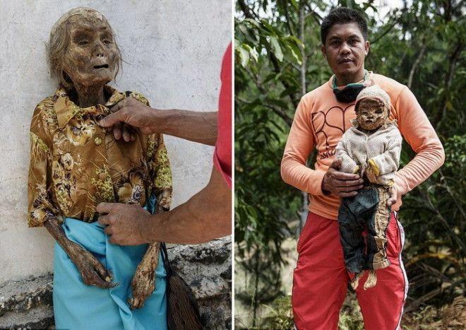 На Сулавеси посвоему относятся к ушедшим в мир иной
