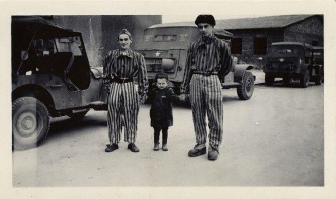 Юзеф Янек Шляйфштайн после освобождения Бухенвальда Фото oursocietyru
