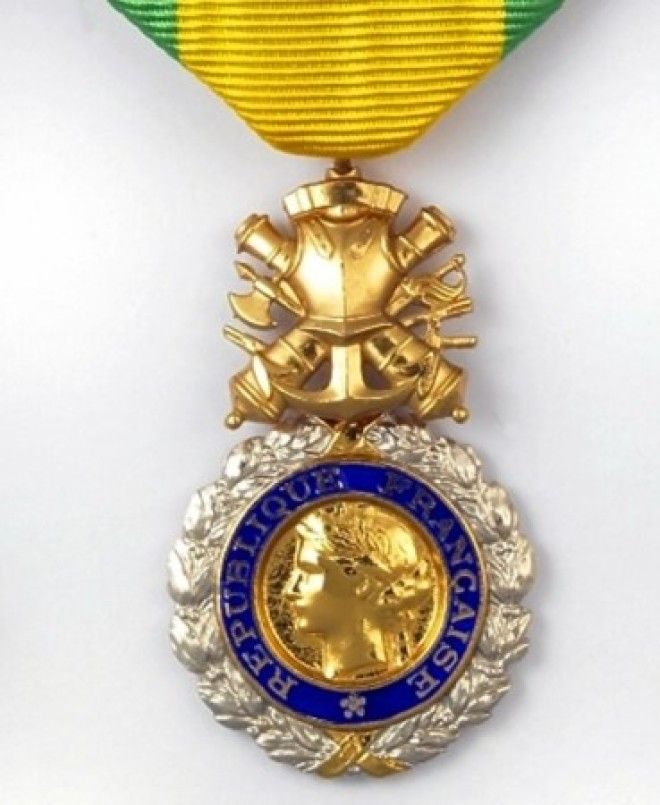Французская Воинская медаль