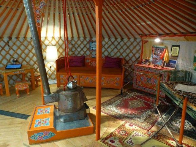 Монгольская юрта в Музее человека Париж Фото commonswikimediaorg