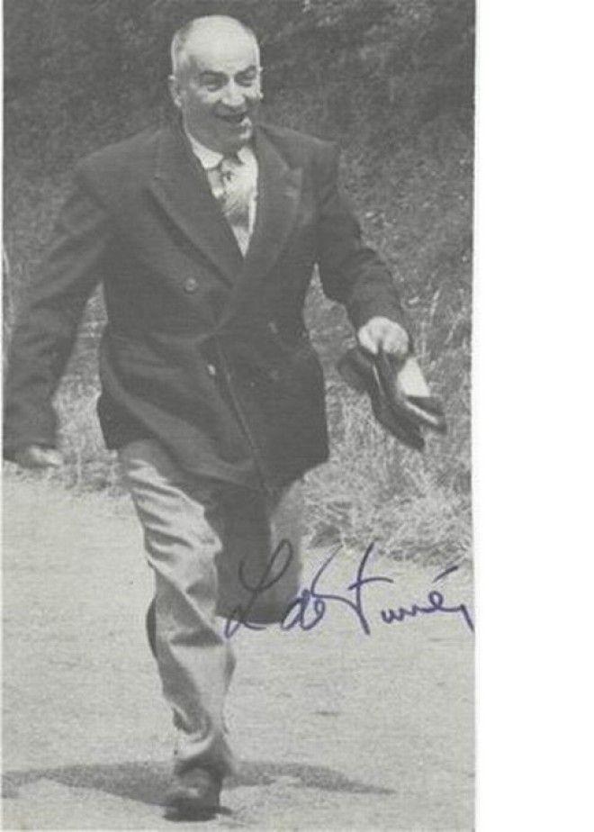 Луи де Фюнес автографы известных людей