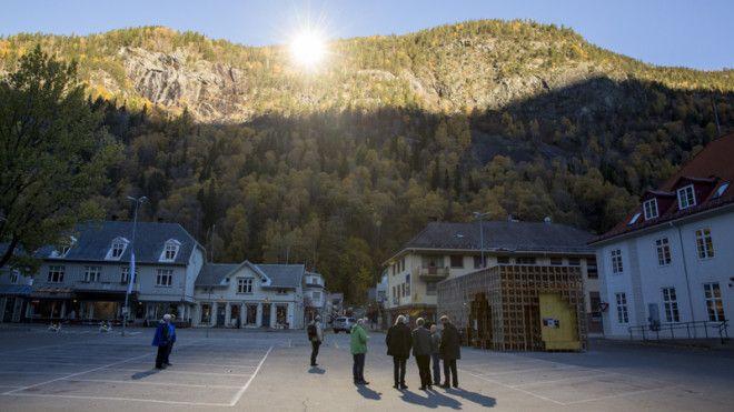 Искусственное солнце для жителей итальянской деревни