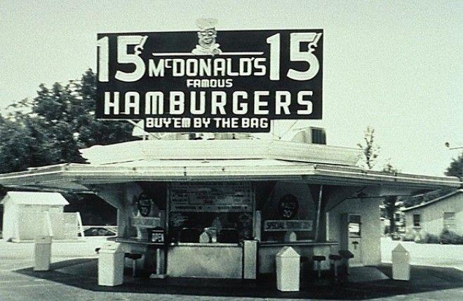SBПервые рестораны сети McDonalds