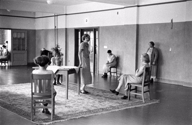 Жизнь в психиатрической лечебнице на кадрах Альфреда Эйзенштадта