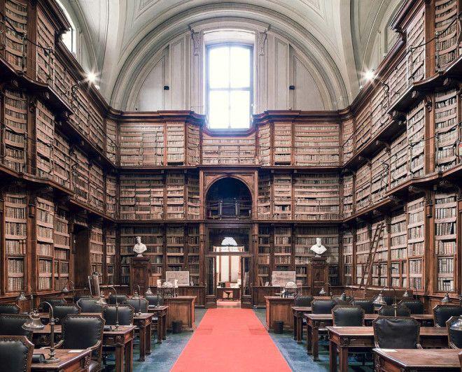 Завораживающие интерьеры библиотек