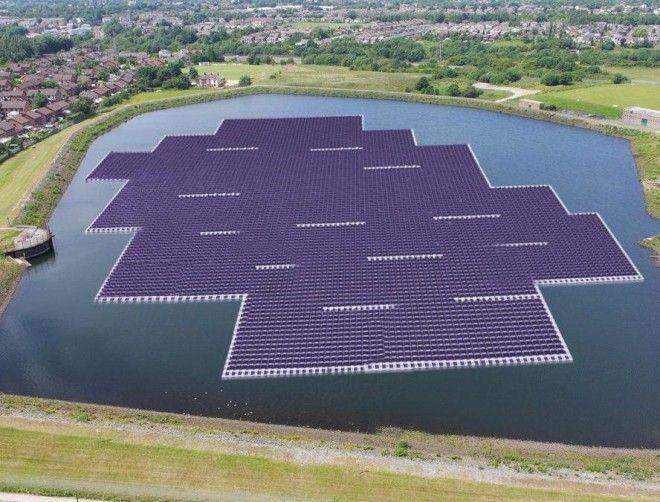 Картинки по запросу солнечная электростанция на воде Хуайнань