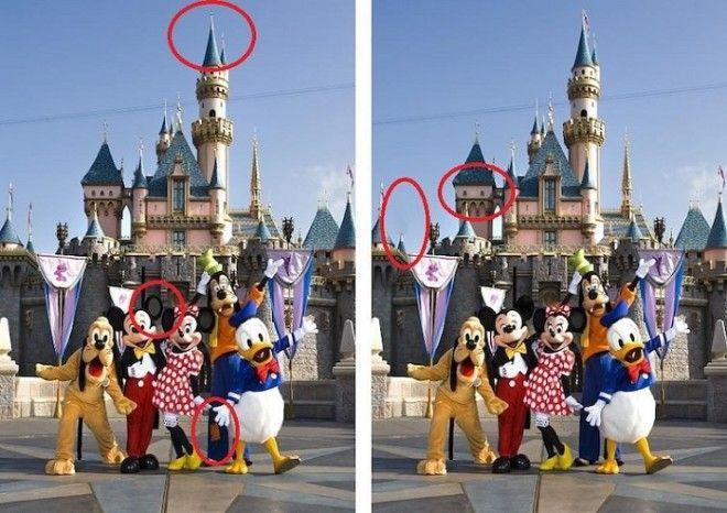 Нужно быть гением чтобы заметить разницу между этими картинами