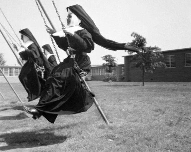 11 фотографий которые изменят ваши представления о монахинях