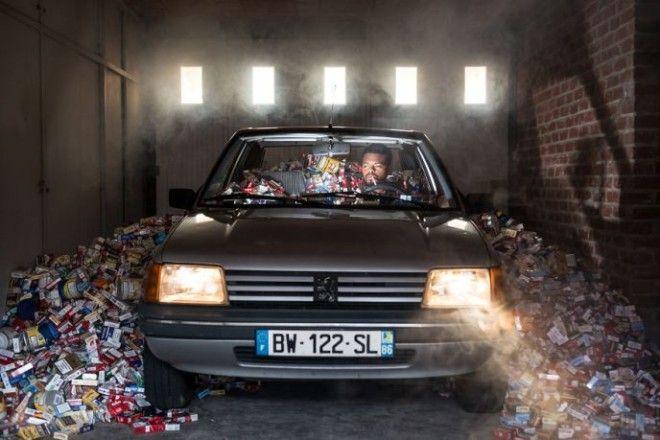 Фотограф не выбрасывал мусор 4 года Узнай зачем