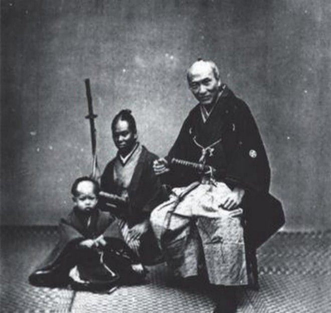 От раба до воина история первого темнокожего самурая