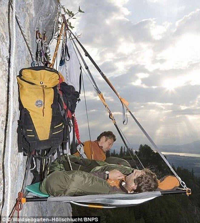 Экстремальный отдых с палаткой