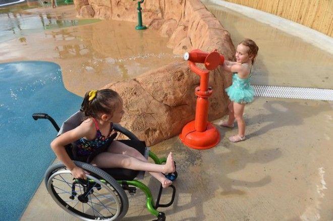 Morgans Inspiration Island аквапарк для людей с ограниченными возможностями