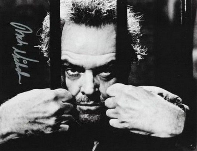 Джек Николсон автографы известных людей
