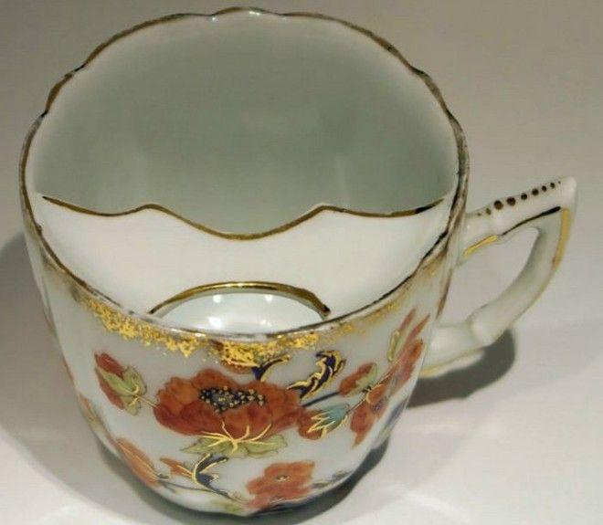 Чашки для усов из Тиршенройта 1880 год